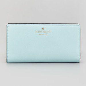 Pastel Light Blue Kate Spade Wallet